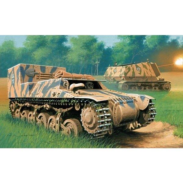 Tracteur blindé SdKfz 135 (Normandie - 1944)
