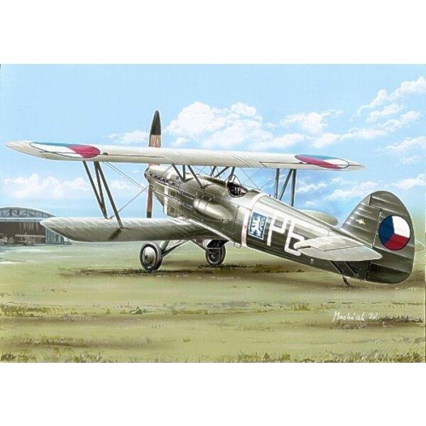 Avia B-534/II.version. Décalques Tchécoslovaquie, Luftwaffe et Slovaquie