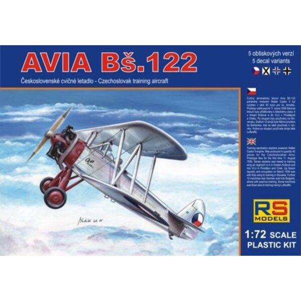 Avia Bs-122 avion d'entraînement - Décalques d'entraînement Bulgarie , Tchécoslovaquie, Luftwaffe et Slovaquie