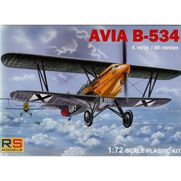 Avia B-534/IV version/version tardive. Décalques Bulgarie , Tchécoslovaquie, Luftwaffe et Slovaquie