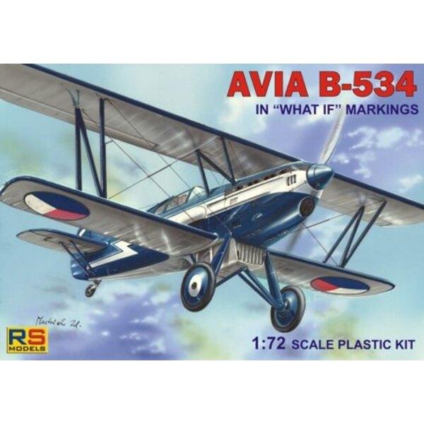 """Avia B-534. Décalques """"What if"""" marquages 5 versions de décalques pour la Tchécoslovaquie, l'Autriche, l'Italie, l'Espagne et la"""
