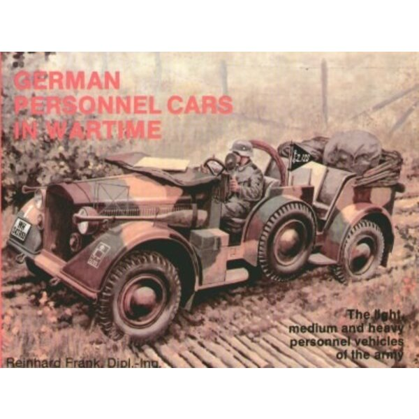 German personnel cars WWII