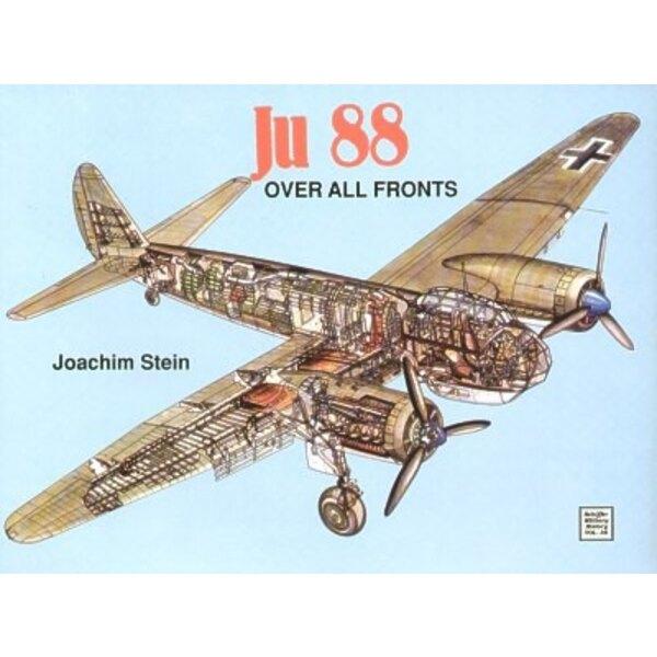 Livre Junkers Ju 88 over all fronts