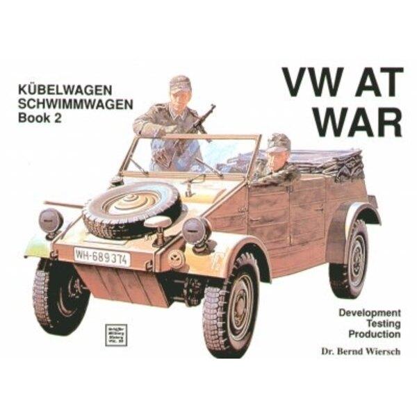 Livre VW/Volkswagen at War Book 2 Kubelwagen and Schwimmwagen.