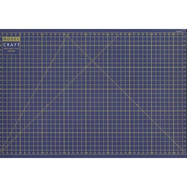 Estera para cortar tamaño A3 - tamaño en milímetros - A3 297 x 420 mm - A4 210 x 297 mm - A5 148 x 210 mm