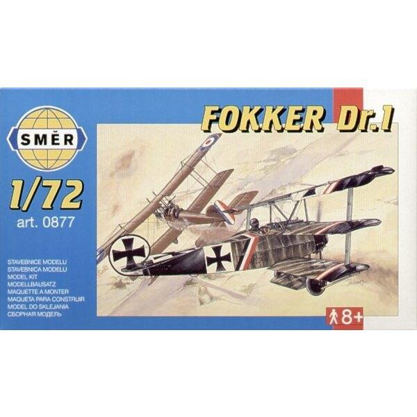 """Fokker Dr I Triplan avec décalques pour Lt Baumer - Jasta 2 Boelcke """"février de 1918"""""""