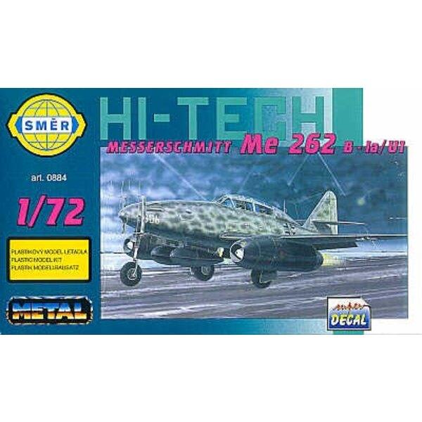 Messerschmitt Me 262B-1A/U-1 avec pièces photodécoupées