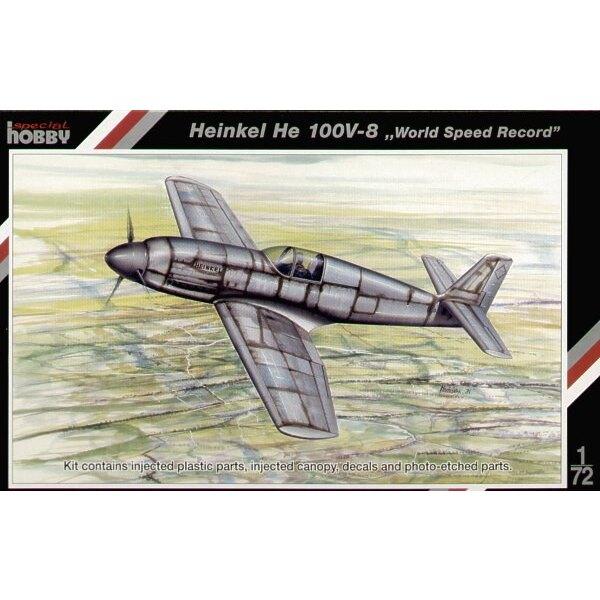 Heinkel He 100V-8 'record de vitesse mondial'