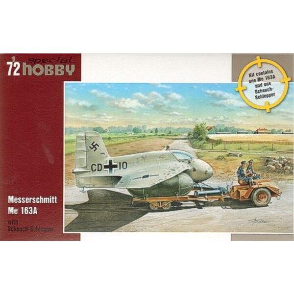 Messerschmitt Me 163A avec Scheuch-Schlepper