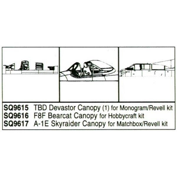 Douglas TBD Devastator (pour maquettes Monogram et Revell)