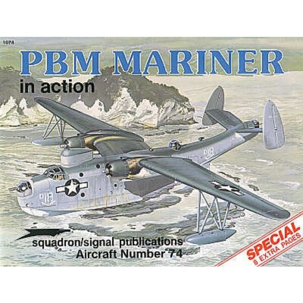 Martin PBM Mariner flying boat/sea plane (In Action Series) Ré-imprimé !