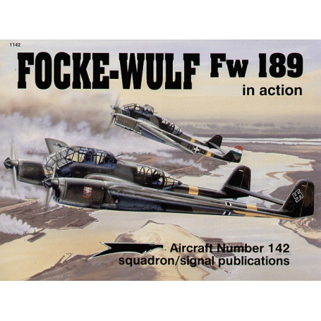Livre Focke Wulf Fw 189 Re-printed (In Action Series)