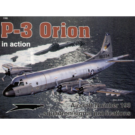 Livre Lockheed P-3 Orion (In Action Series)