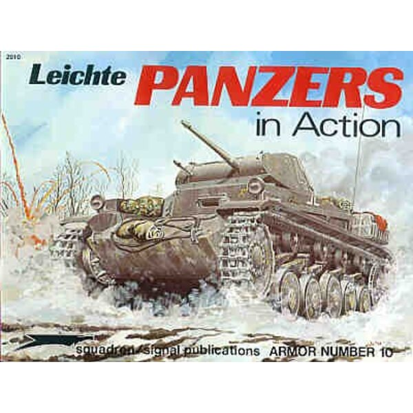 German Light Tanks (In Action Series)
