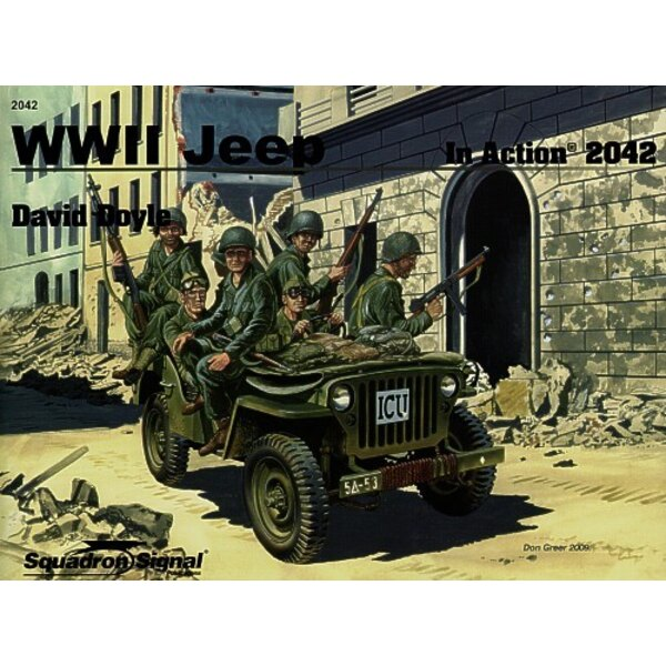 WWII Jeep In Colour (In Action Series)