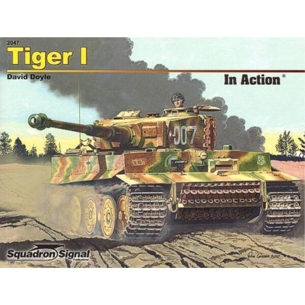 Tiger I par David Doyle (In Action Series)
