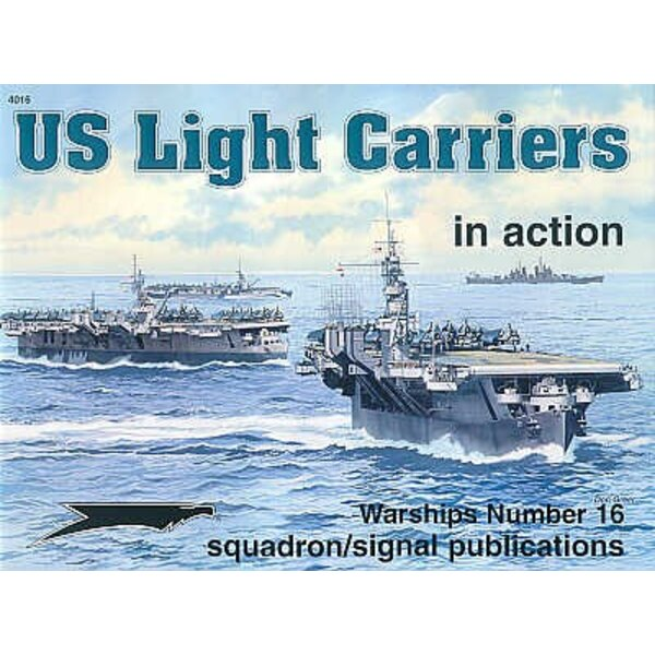 US Light Carriers (In Action Series)