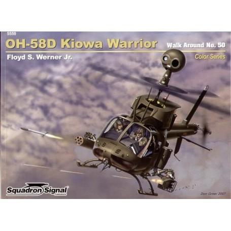 Livre OH-58D Kiowa Warrior COLOUR (Walk Around Series)