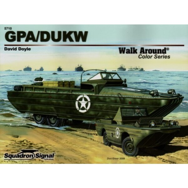 GPA/DUKW Color (Walk Around Series)