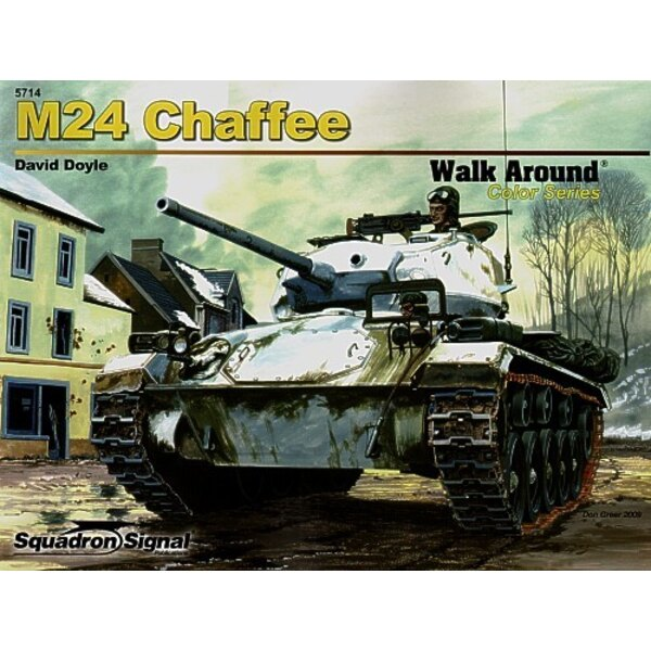 M24 Chaffee (Walk Around Series)