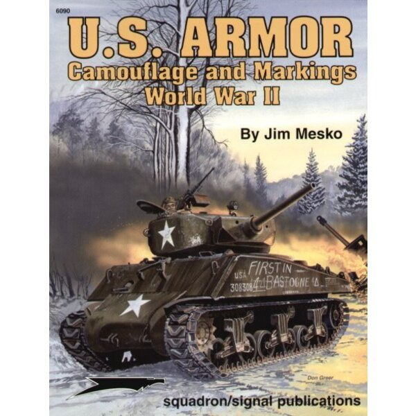 US Armour Camouflage & Markings WWII (Specials Series)
