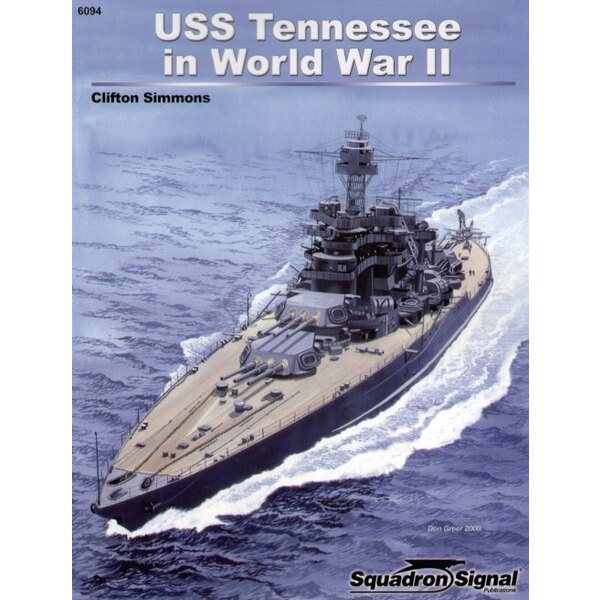 USS Tennessee in WWII (Specials Series)
