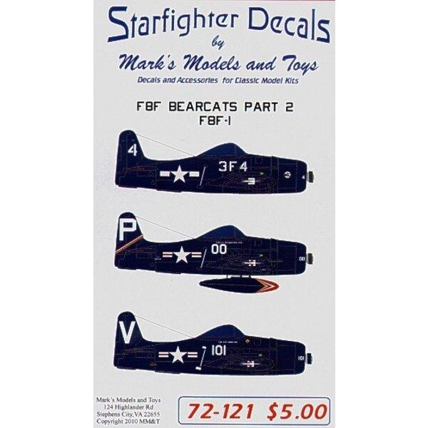 Grumman Bearcat (3) 95081 3F4 VF-31 1946 White 101 95208 VF-11A 1948 121509 P/00 1948.