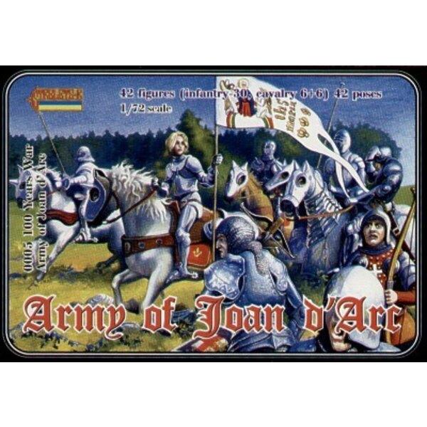 Armée Guerre de 100 Ans de Jeanne D'Arc