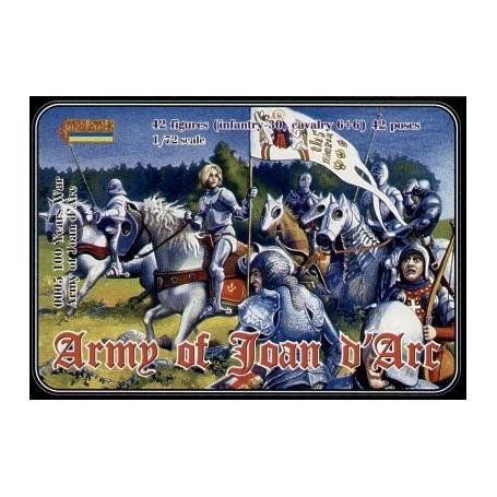 Armée de Jeanne d'Arc Guerre de 100 Ans