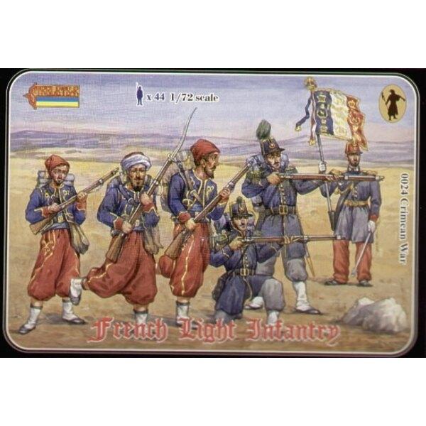 Infanterie légère française - guerre de Crimée