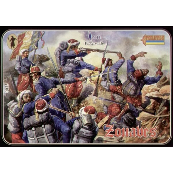 Crimean French Zouaves