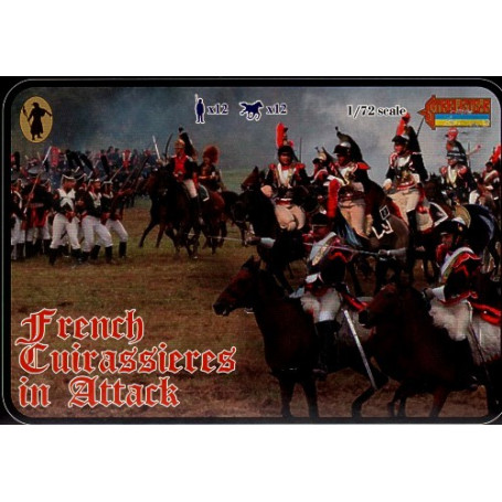 Cuirassiers français à l'attaque (époque napoléonienne)