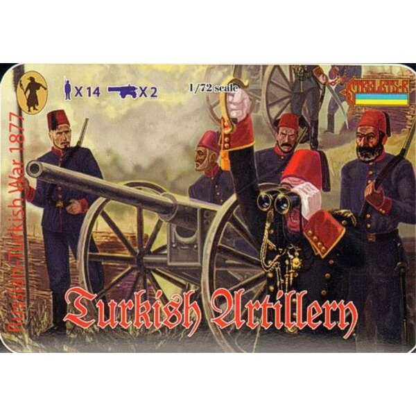 Turkish Artillery 1877 Russo-Turkish War 1877