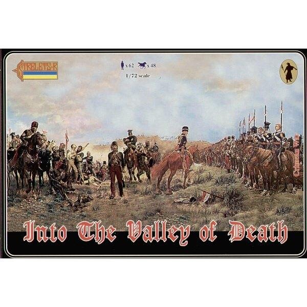 """Dans la vallée de la mort, inclut un nouveau jeu de Brigade légère britannique et les boîtes 36 40 et 50"""""""