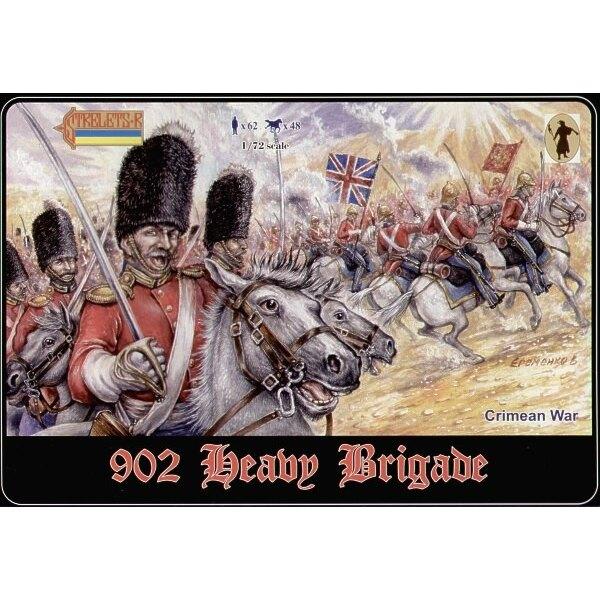 Brigade Lourde. Guerre de Crimée. Dans le coffret 023 et 030 plus 2 nouveaux coffrets. 1 monté. 1 monté/démonté