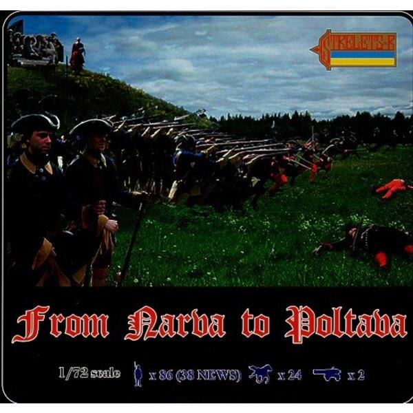 De Narva à Poltava (4 coffrets incl. Les vieux no. 035 043 044)