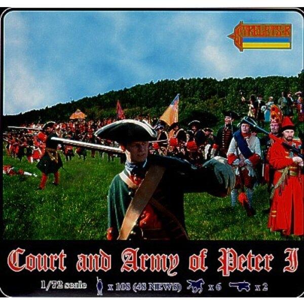 La cour et l'armée de Pierre le Grand. 4 coffrets en incluant 031 et 042