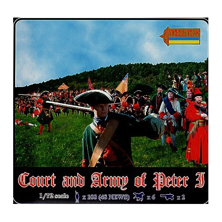 Court and Army of Peter The Great. 4 sets including 031 and 042