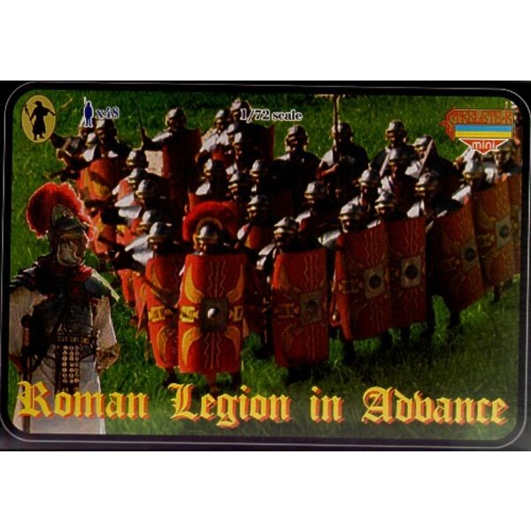 Roman Legion in attack