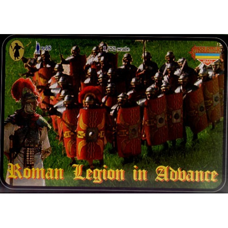 Roman Legion in attack