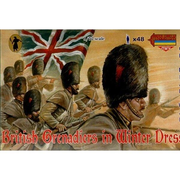 Grenadiers britanniques en tenue d'hiver