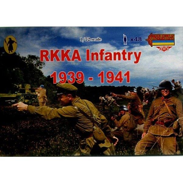 Infanterie de RKKA (armée rouge du début de la 2ème GM)