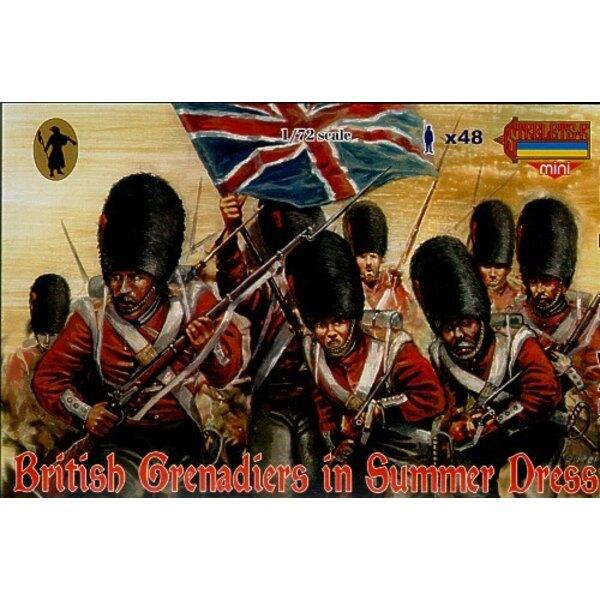 Grenadiers britanniques en tenue d'été