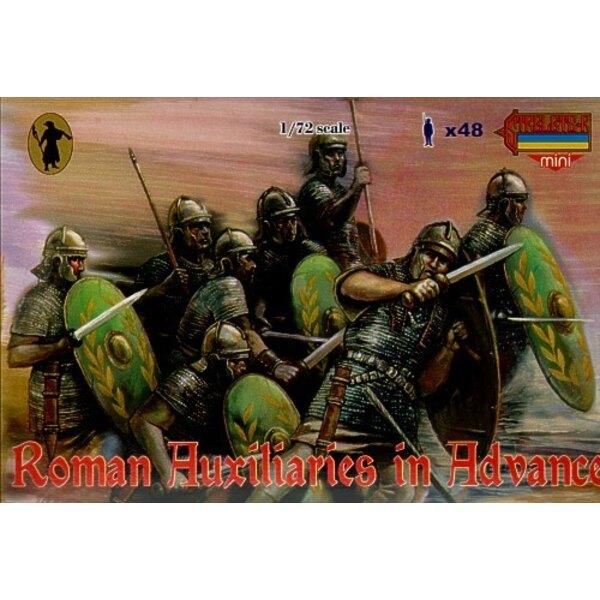 Auxiliaires romains en marche