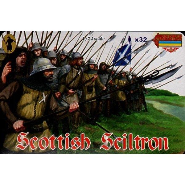 Schiltron écossais. Guerres des Frontières écossaises