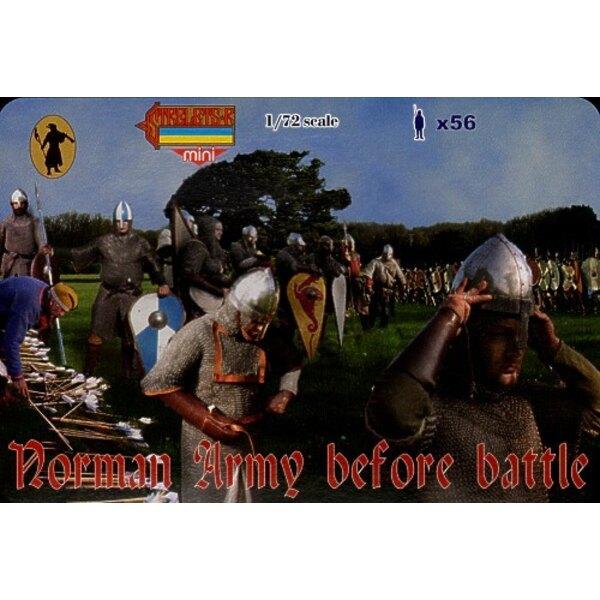 Armée normande avant la bataille