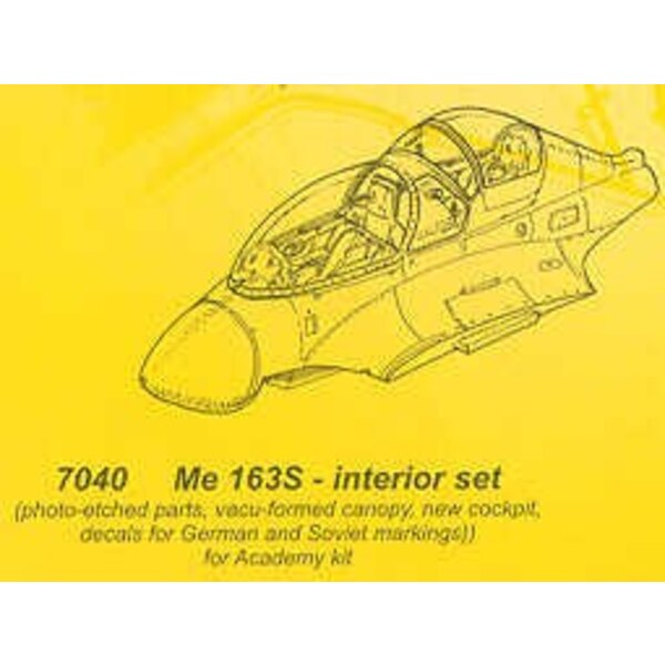 conversion pour Messerschmitt Me 163S (pour maquettes Academy)