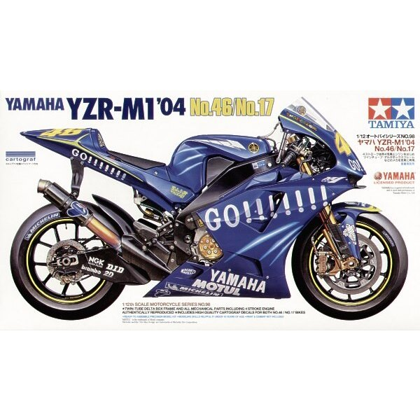 Yamaha YZR-M1 ′04 No.47/No.17 Rossi/Abe
