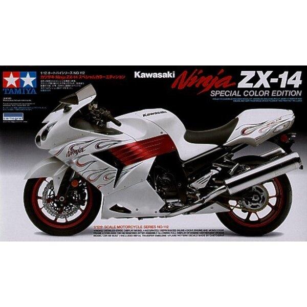 Kawasaki Ninja ZX-14 l'Édition en couleur Spéciale