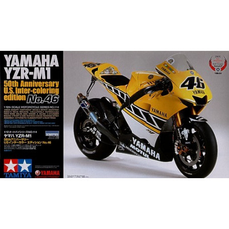 Yamaha YZR-M1 50th Anniversary US Inter-coloring edition Rossi
